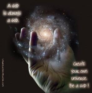 BE A GOD