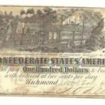 Confederate States Of America money