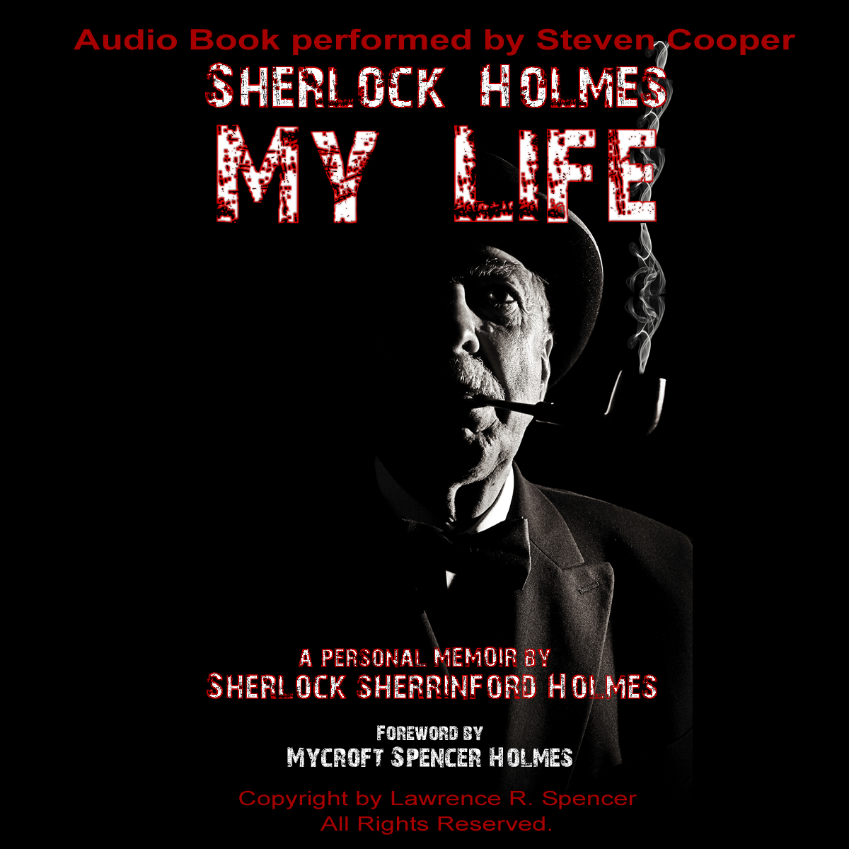 Sherlock Holmes Audio Book CD Cover