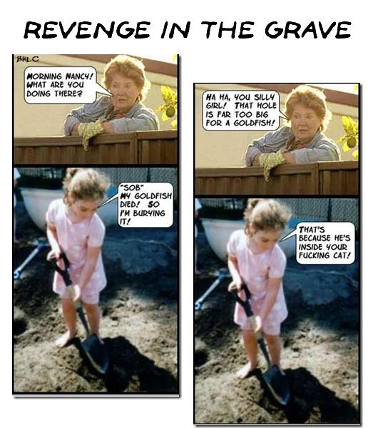 revenge of the grave