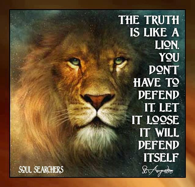 TRUTH DEFENDS ITSELF
