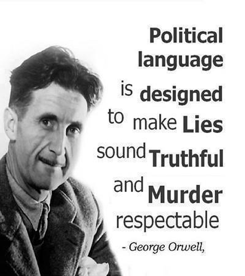 G. Orwell quote