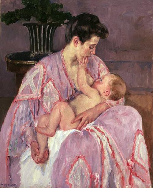 breastfeeding-mom-by-mary-cassatt-1906