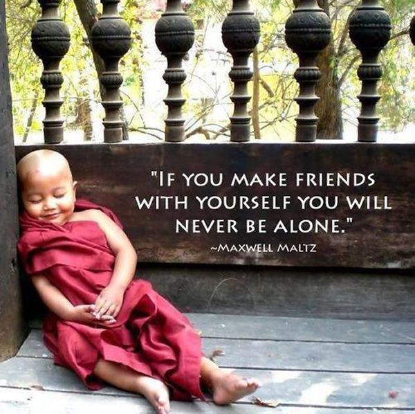 FRIENDS WITH YOUR SELF