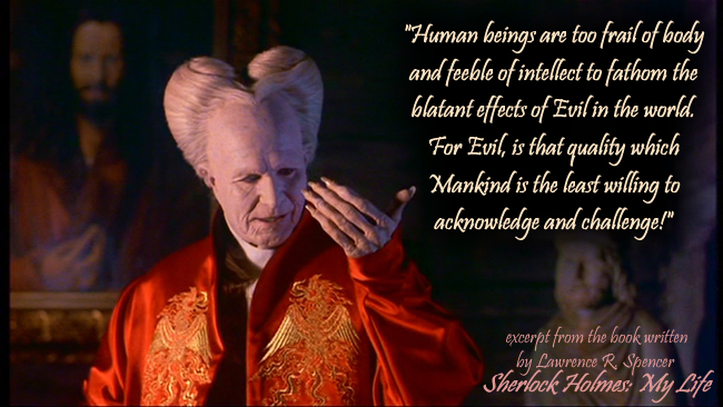 COUNT DRACULA - evil quote