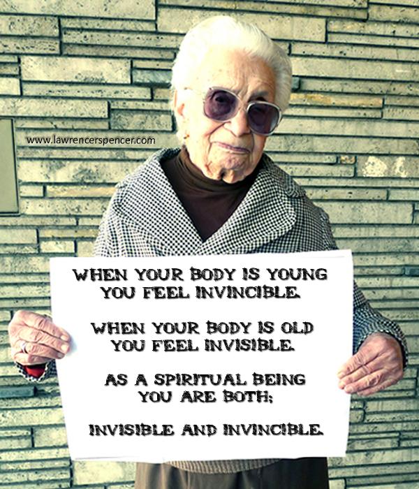 INVINCIBLE and INVISIBLE