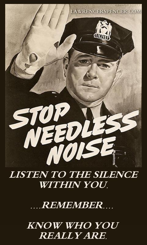 NEEDLESS NOISE