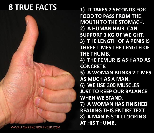 8 true facts