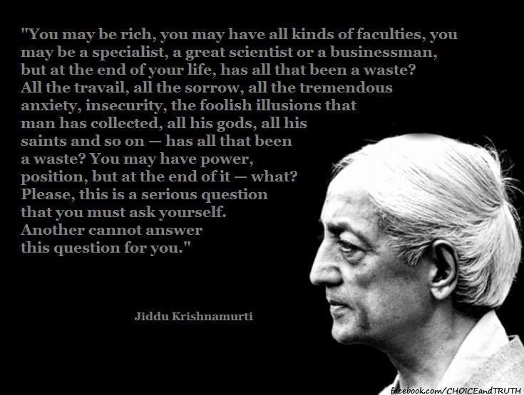 Jiddu Krishnamurthy