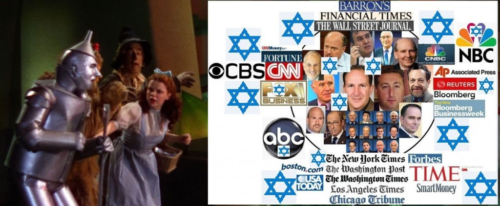 zionists behind curtain