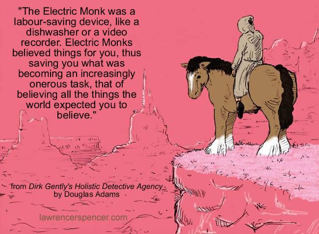 electronic monk
