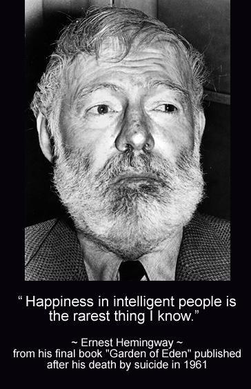 Hemingway-Happiness