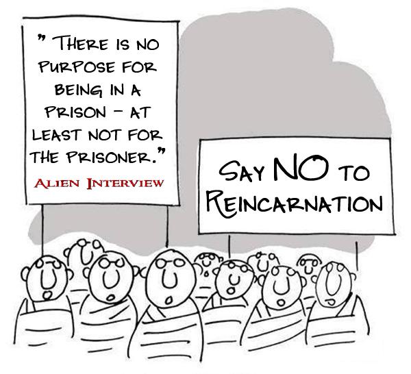 say no to reincarnation