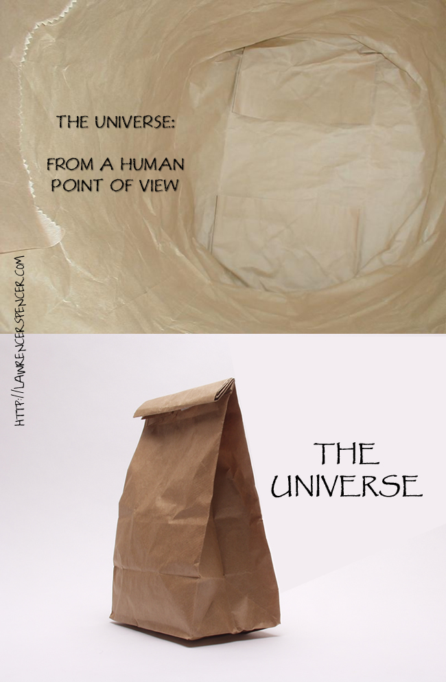 the universe - two views