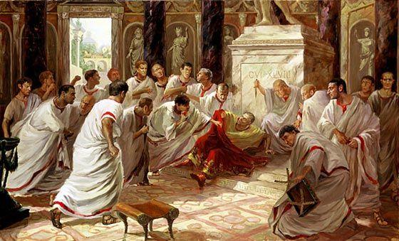 Ides of March - kill Caesar