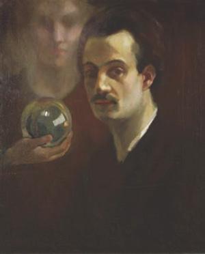 Khalil_Gibran-Self-portrait-c._1911