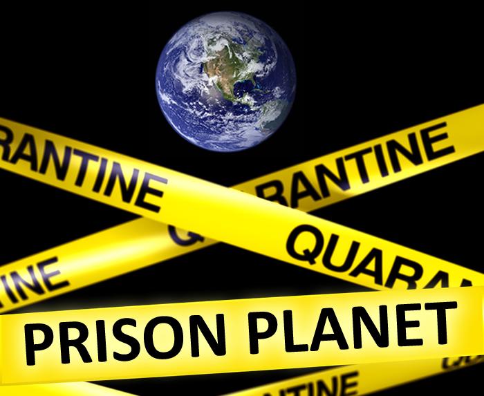 Quarantine prison-planet