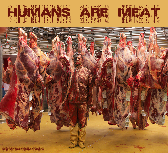 humans are meat